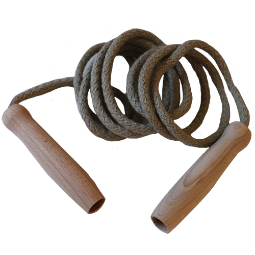 1503-BRAIDED-ROPE-with-WOODEN-HANDLES-2,5-m