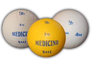 "Floating Medicine Balls from ""Kogelan Material"""