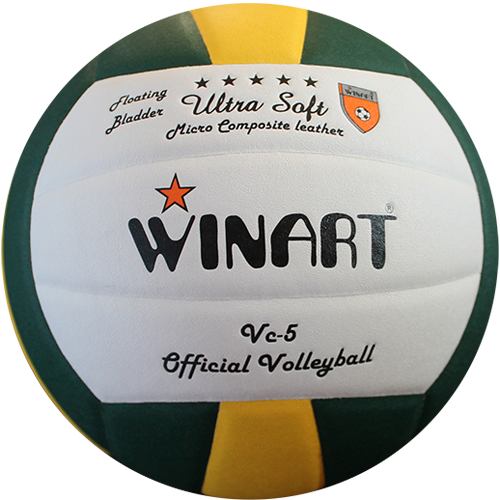 0511 WINART Volleyball VC-5 green-white-yellow MICRO COMPOSITE LEATHER